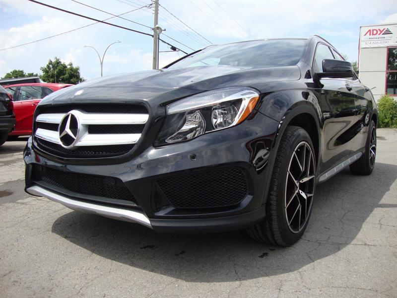 Mercedes-Benz GLA 250 4MATIC AMG PCKG 19