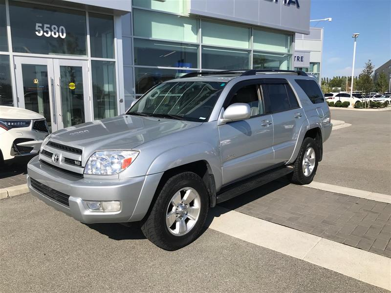 2005 Toyota 4runner Limited V8 4wd Used For Sale In Richmond At