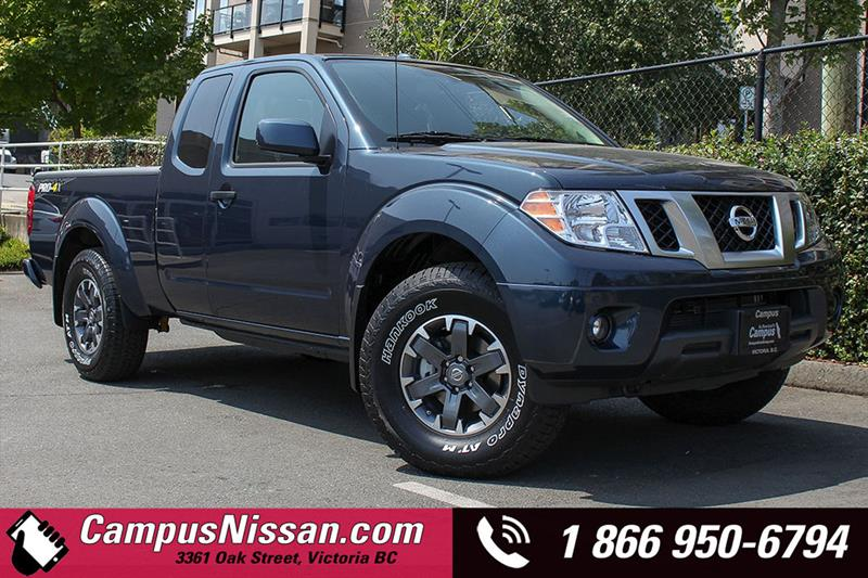 2018 Nissan Frontier King Cab Standard Bed 4x4 #D8-T553