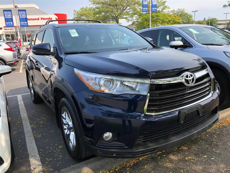 2015 Toyota Highlander LTD AWD! Balance Of Factory Warranty! #B12399