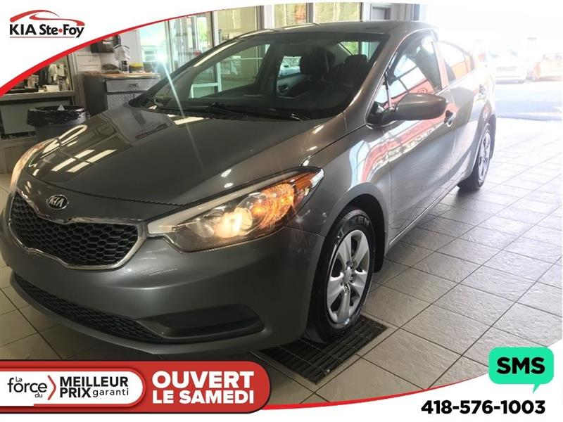 Kia Forte 2014 **LX** BLUETOOTH * COMMANDE AUDIO AU VOLANT * #180729B