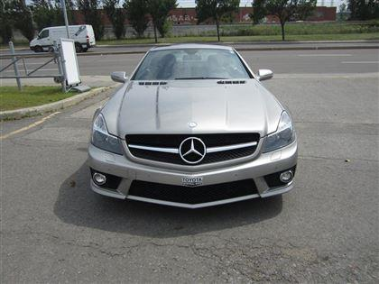 Mercedes-benz Sl-class SL63 AMG 2009 Silver automatic of 56 088 km