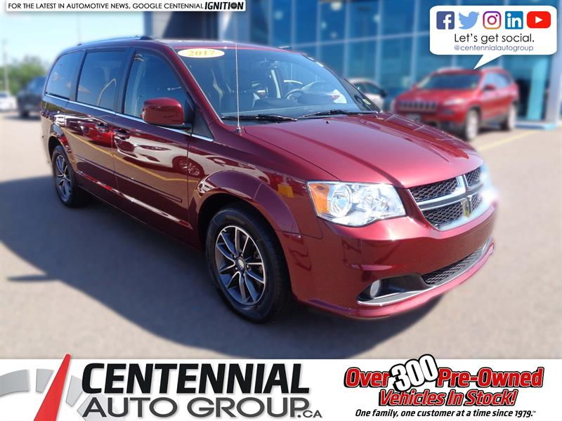 2017 Dodge Grand Caravan 4dr Wgn SXT Premium Plus #U1100