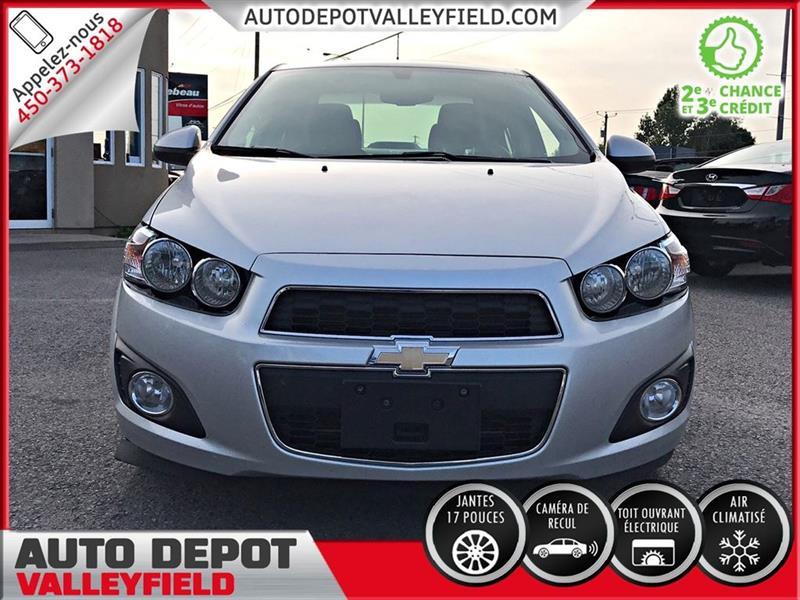 Chevrolet Sonic Lt Auto Toit Mags Camera 2014 Occasion Vendre