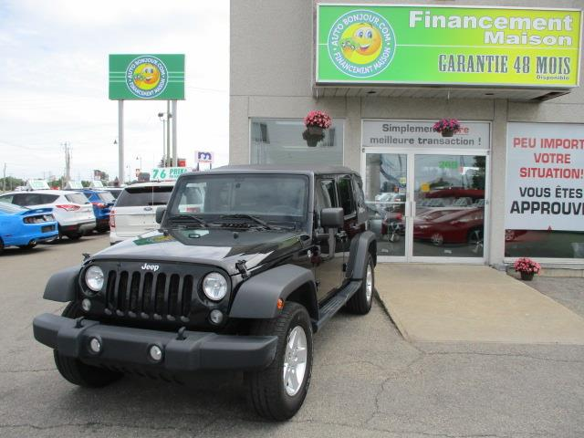 Jeep Wrangler Unlimited 2014 4WD 4dr Sport #18-147