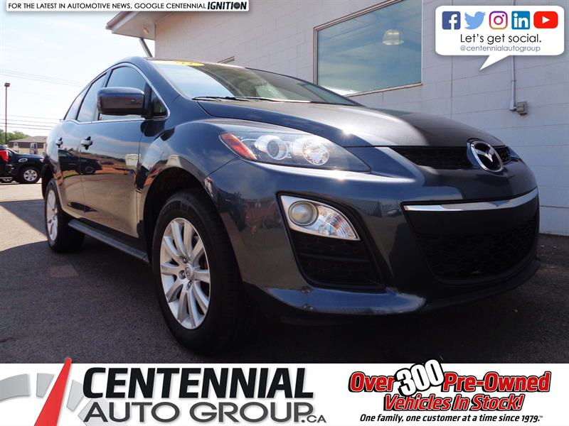 2011 Mazda CX-7 GX | FWD | Power Windows/Doors | Low KMs! #P18-081A