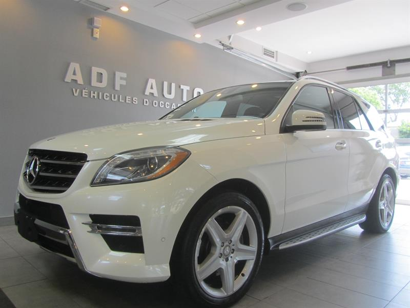2014 Mercedes-Benz M-Class ML350 BLUETEC 4MATIC AMG PACKAGE #4288