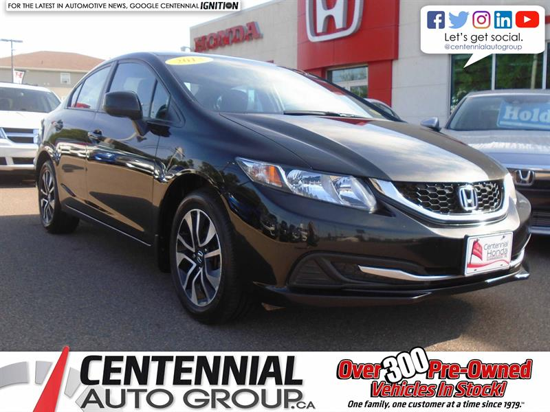 2013 Honda Civic Sedan EX | Bluetooth |  #9294A