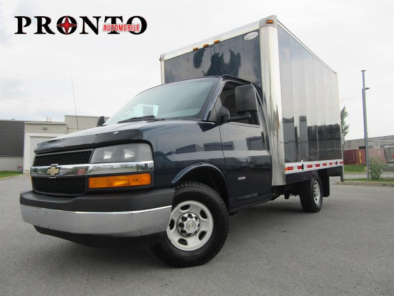Chevrolet Express Commercial Cutaway 2013 CUBE 12 PIEDS 3500 Diesel DURAMAX **RARE** #3543