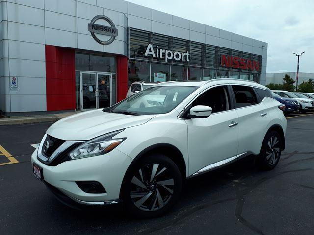 2018 Nissan Murano DEMO MODEL PLATINUM, LEATHER #M18791