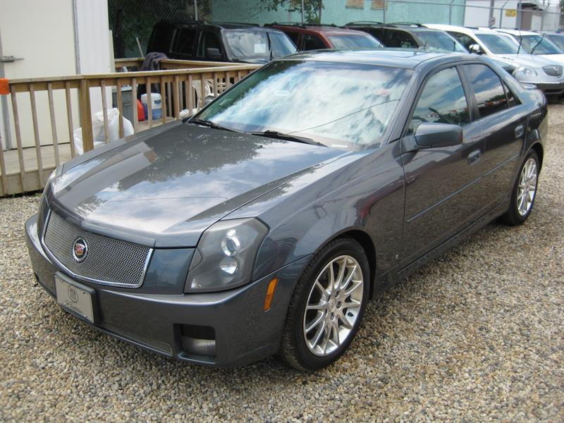 2007 Cadillac CTS 4dr Sdn 3.6L #158023