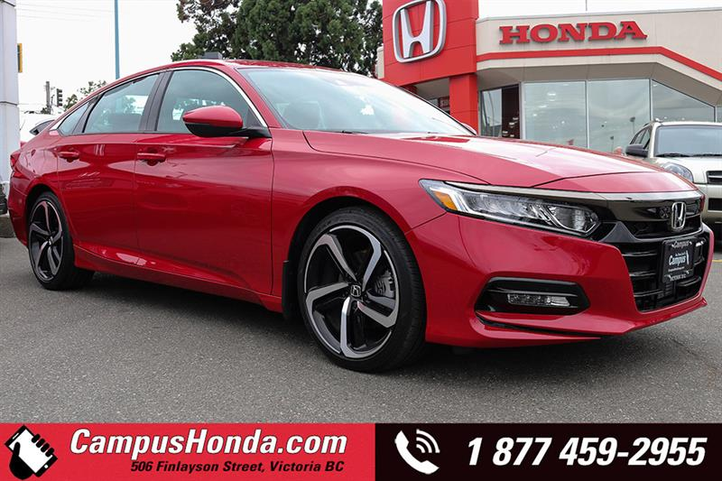 2018 Honda Accord Sedan Sport 2.0 Manual #D18-0274