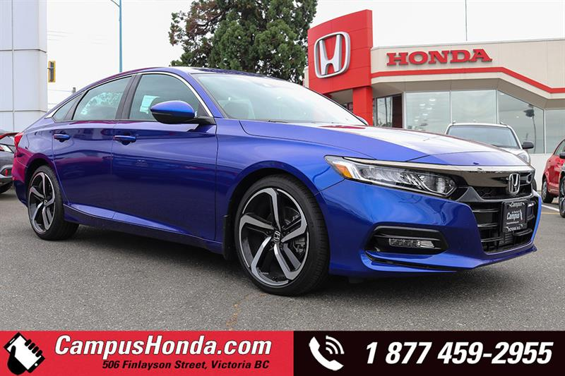 2018 Honda Accord Sedan Sport CVT #D18-0412
