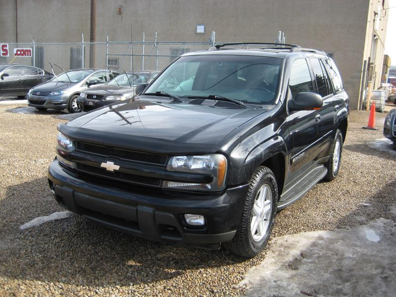 2002 Chevrolet Trailblazer 4dr 4WD #154587