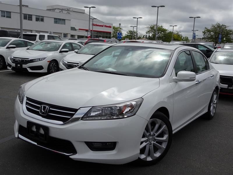2014 Honda Accord Sedan Touring CVT! Honda Certified Extended Warran #LH8227