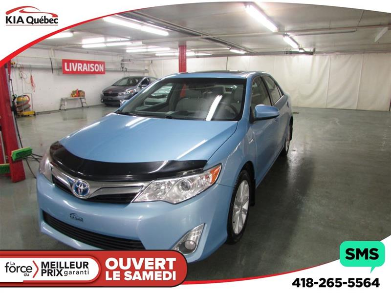 Toyota Camry Hybrid 2012 XLE* TOIT OUVRANT* CAMÉRA* HITCH* #K180988A