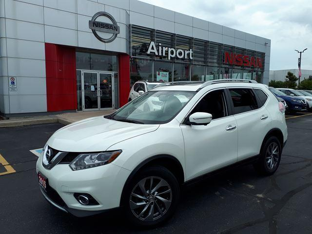 2015 Nissan Rogue SL LOADED,LEATHER,NAVI,ROOF,AL #P1728