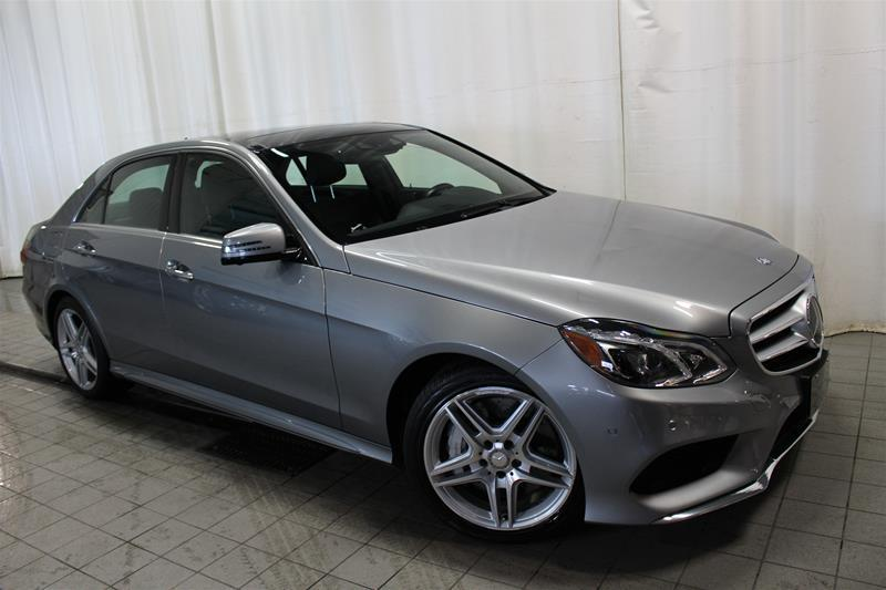 Mercedes-Benz E550 2014 4MATIC Sedan V8 BI-TURBO #U18-261