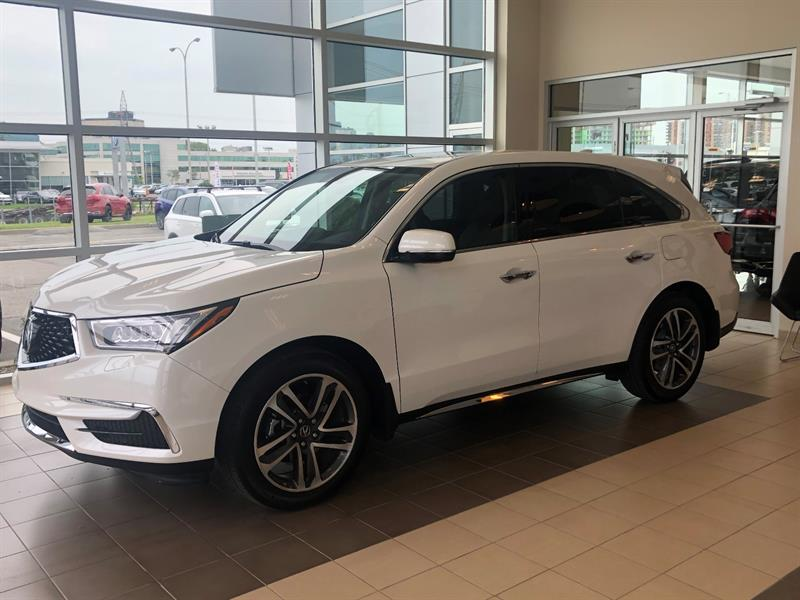 Acura MDX Navi SHAWD Demonstrator For Sale In Laval At Acura Laval - 2018 acura mdx hitch