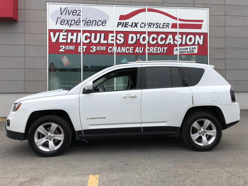 Jeep Compass 2015 4WD 4dr+NORTH+4X4+MAGS+A/C+GR.ELEC+WOW! #18386A