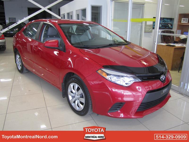 Toyota Corolla 2014 LE CVT Aut/Ac/Vitres,Portes,Miroirs Electriques  #3293 AT
