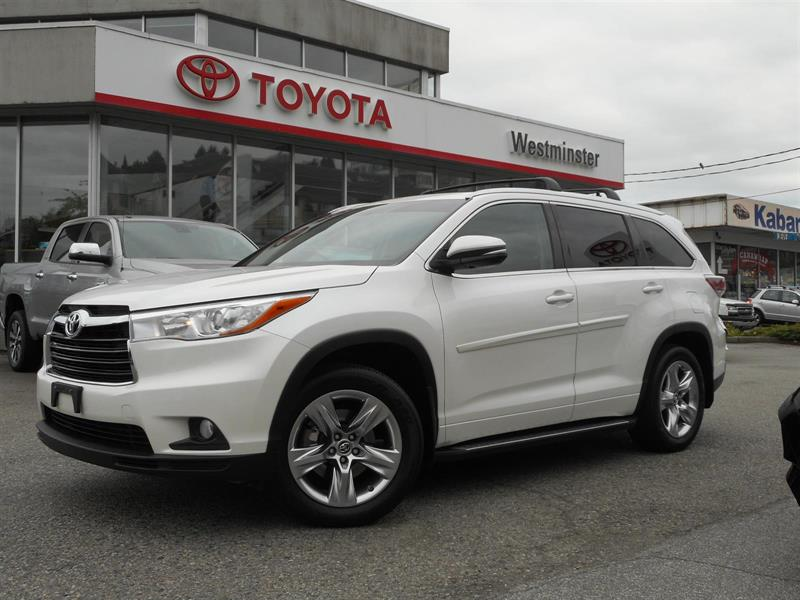 2016 Toyota Highlander Limited AWD #P6621T