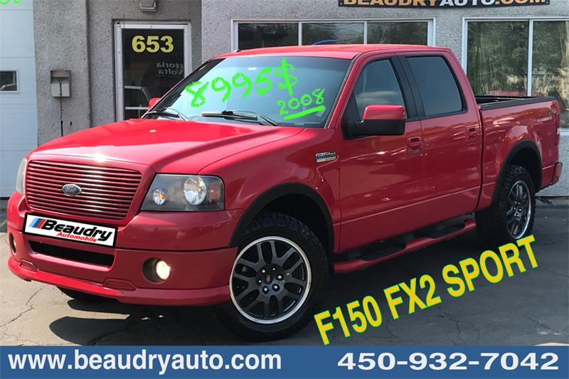 Ford F-150 2008 FX2  SuperCrew  SPORT #2925