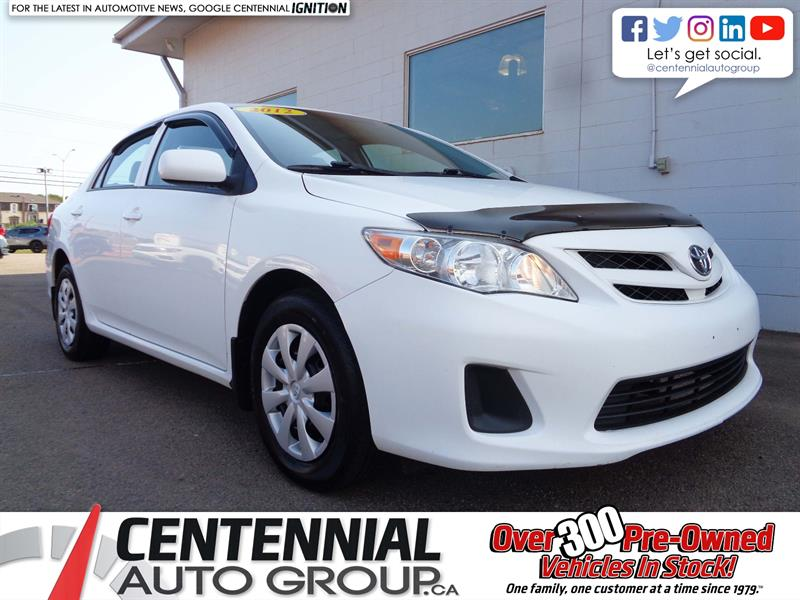 2012 Toyota Corolla CE | FWD | A/C | Great Price! #17-523A