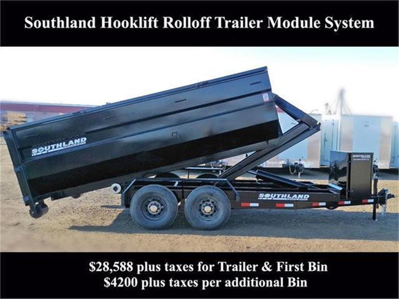 2019 Southland Hook Lift Roll Off Trailer