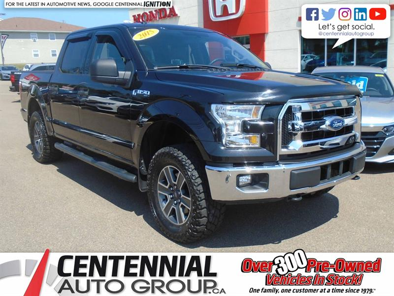 2015 Ford F-150 XLT | 4WD | Backup Camera | Bluetooth |  #8747A