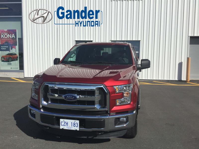 2016 Ford F-150 4X4 XLT SuperCrew #FE8072A