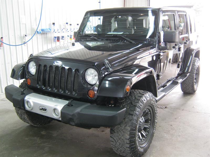 jeep wrangler unlimited 4wd 4dr sahara 2009 occasion vendre boischatel chez jd occasion. Black Bedroom Furniture Sets. Home Design Ideas