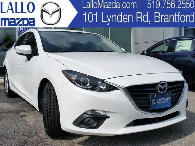 2015 Mazda MAZDA3 GS *CPO* W/ REMOTE START Used For Sale In Brantford At  Lallo Mazda