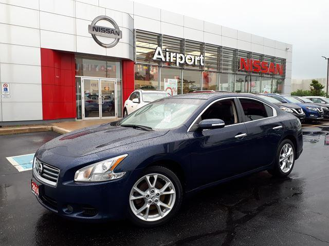 2014 Nissan Maxima 3.5 SV ,LEATHER,ROOF,ALLOYWHEE #P1734