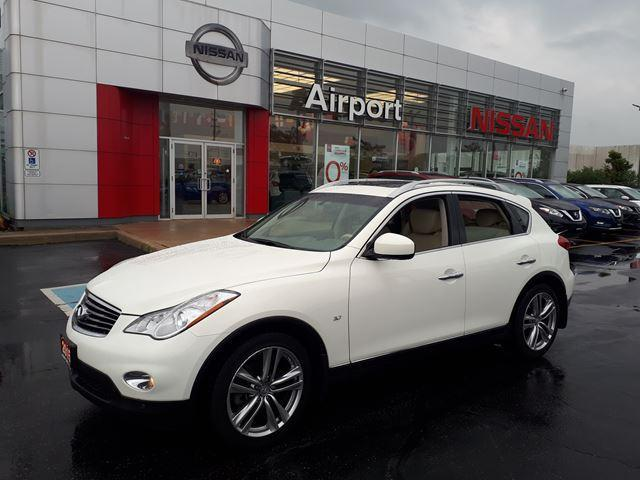 2015 Infiniti Qx50 LEATHER,NAVI,ROOF,ALLOY WHEELS #P1738