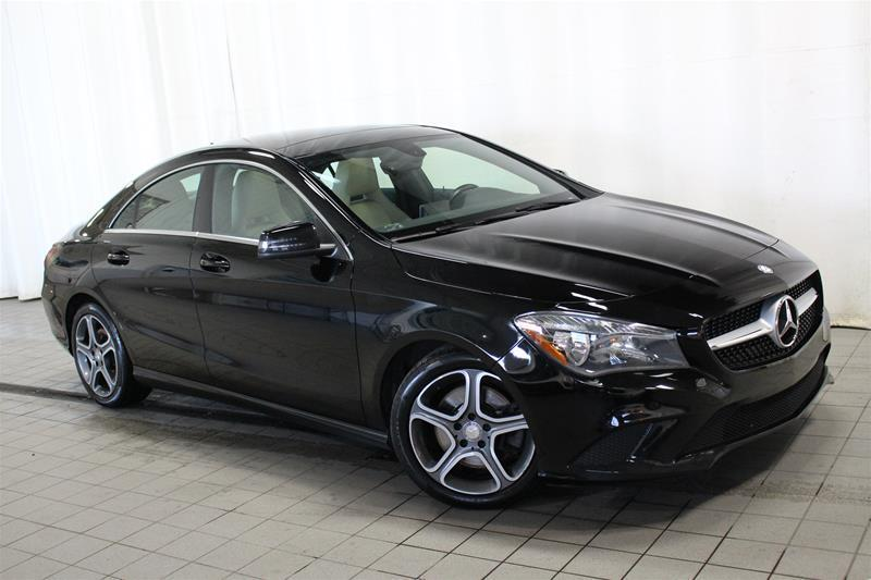 Mercedes-Benz CLA250 2014 4MATIC Coupe TOIT PANORAMIQUE #U18-345