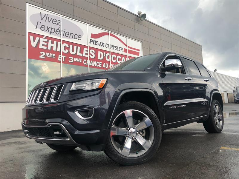 Jeep Grand Cherokee 2015 4WD 4dr Overland+CRUISE ADAPTATIF+WOW! #UD4772