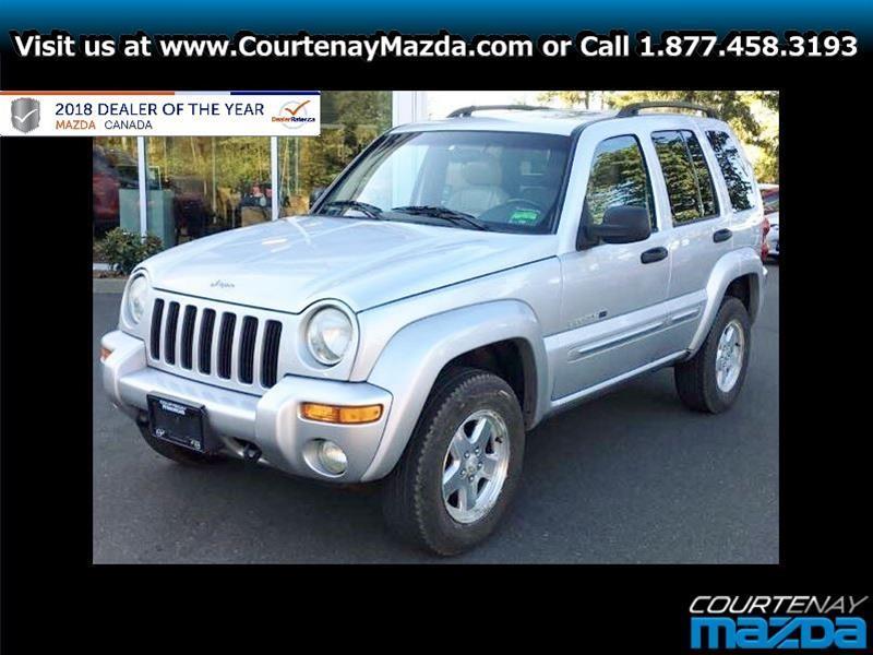 2002 Jeep Liberty 4Dr Limited #18CX57838B