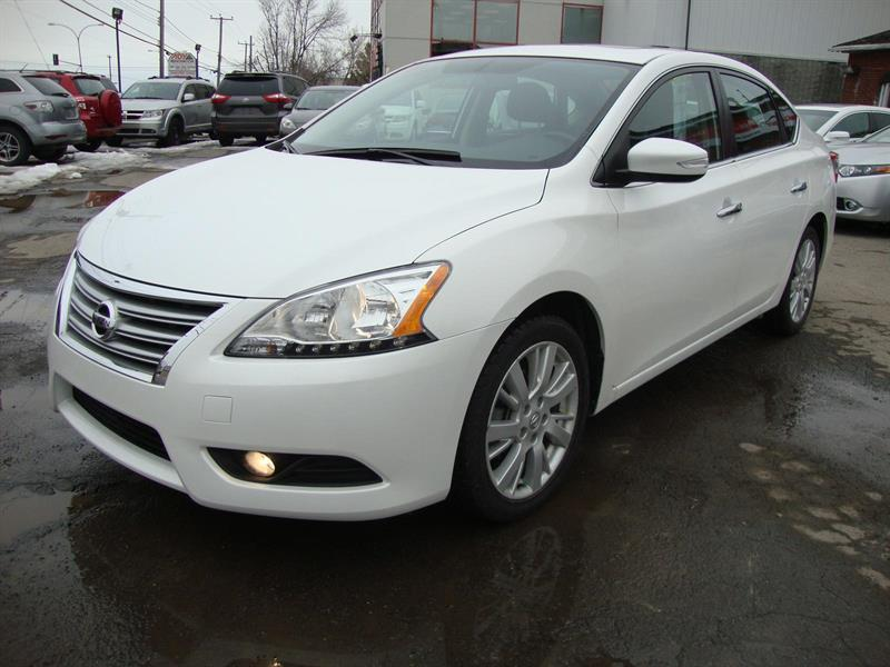 Nissan Sentra 2013 SL NAVI-BLUETOOTH-LEATHER-ROOF-17 MAGS #S47