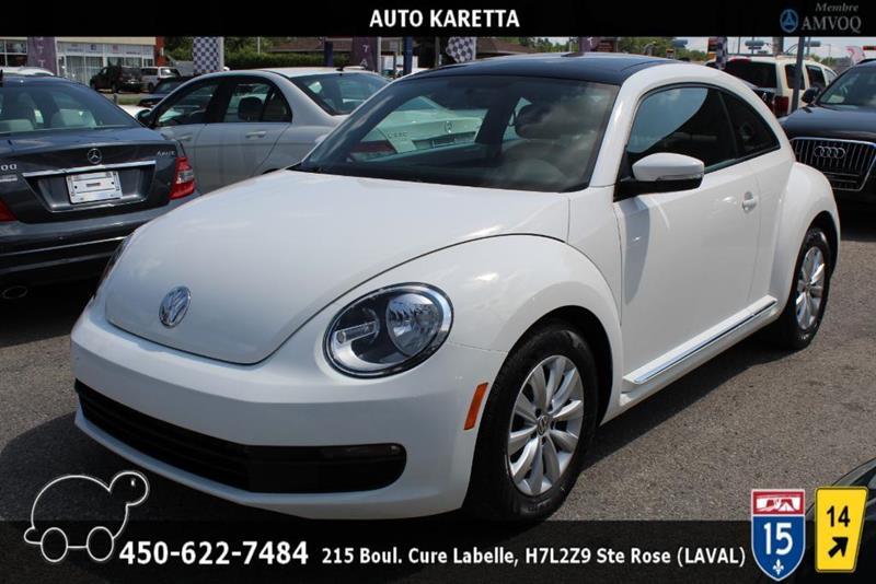 Volkswagen Beetle 2013 TDI, COMFORTLINE,TOIT,SIEGES C #AS8238