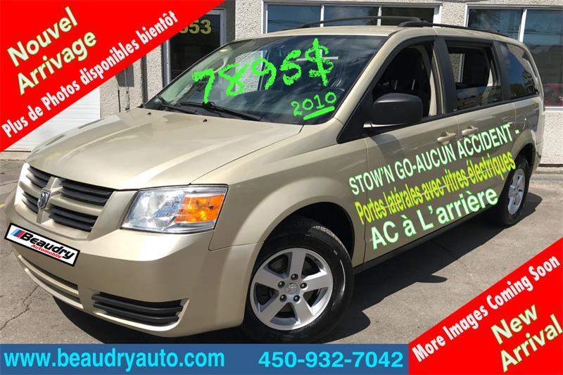 Dodge Grand Caravan 2010 4dr Wgn sto n go #2928