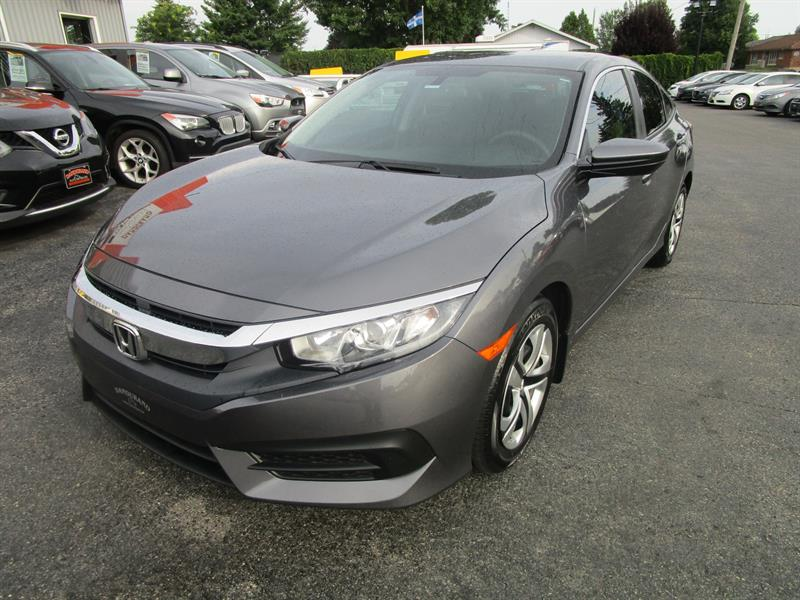 Honda Civic Sedan 2018 LX CVT #2391a