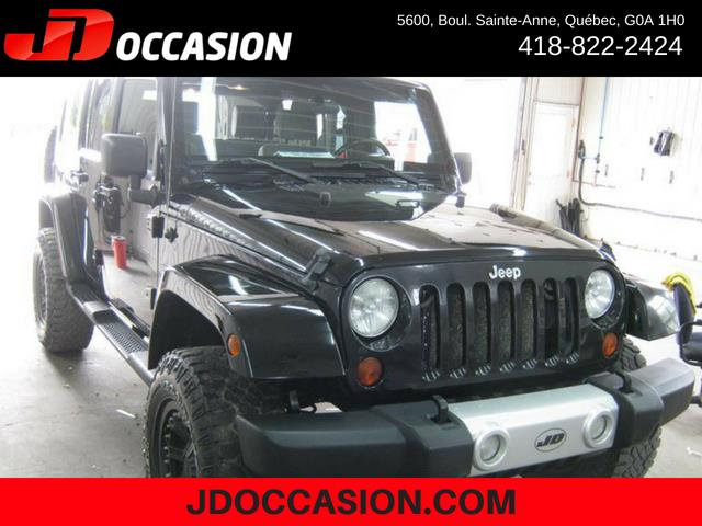 Jeep Wrangler Unlimited 2009 4WD 4dr Sahara #A4927