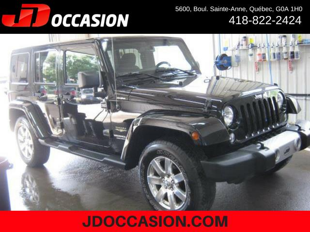 Jeep Wrangler Unlimited 2015 4WD 4dr Sahara #90041A