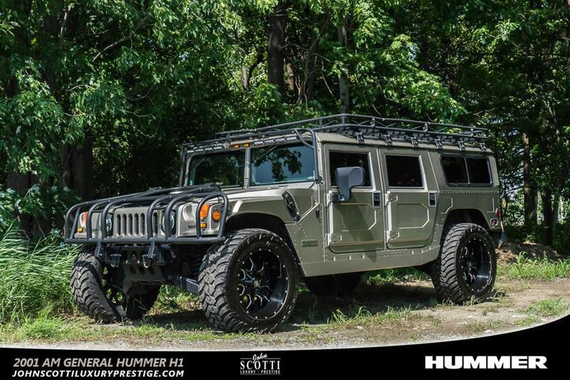 2001 AM General Hummer Diesel 6.5L #C0340