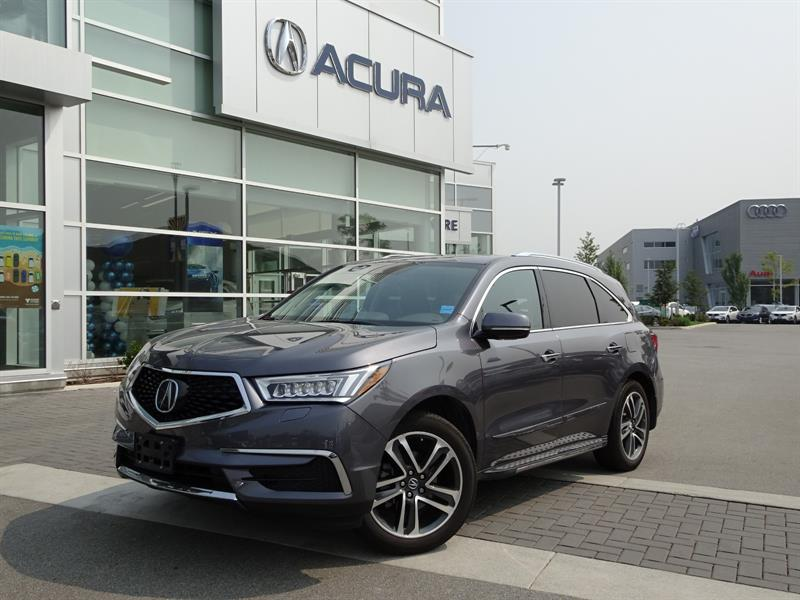 2017 Acura MDX SH-AWD 9-Spd AT w/Navi Package #P5979