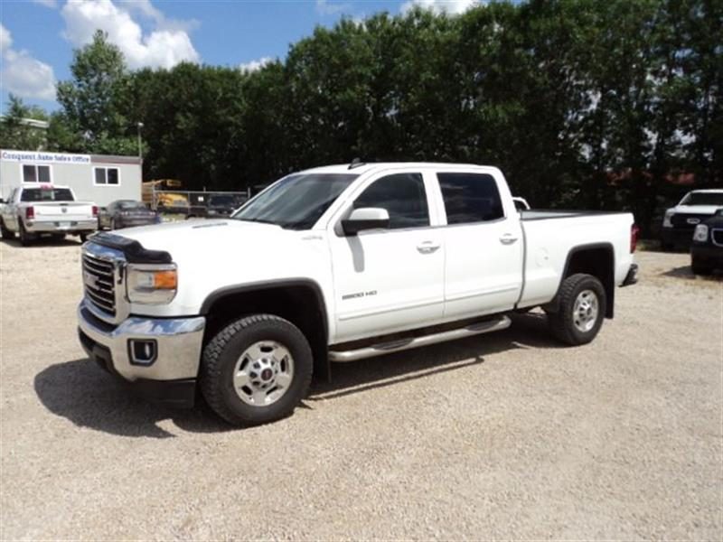 2015 GMC Sierra 2500HD Leather Duramax Diesel Crew Cab 4x4