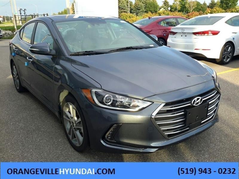 2017 Hyundai Elantra Limited SE Sedan Auto - Sunroof/BSD/LDWS/ACC/FCW #72136