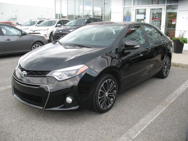 Toyota Corolla 2014 4dr Sdn S #18388A