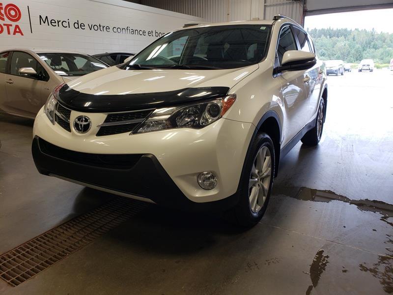 Toyota RAV4 2014 * Limited AWD * CUIR * TOIT OUVRANT * GPS * #80819A-85